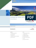 Kriterienkatalog Normen 2015 2020 CH Fr1
