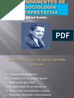 Los fundamentos de la sociología interpretativa de Alfred Schütz