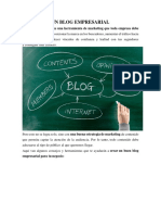 Un Blog Empresarial