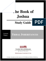 The Book of Joshua – Lesson 3 – Study Guide
