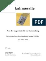 Einführung in die Gesteins- und Lagerstättenkunde