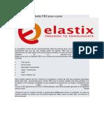 Elastix PBX Paso a Paso