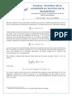 6470 Annexe Evolution de La Cristallinite en Fonction de La Temperature Ens 0