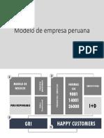 Modelo de Empresa Peruana