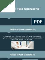 Post Operator i o