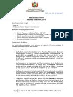 MJTI-UAI-INF N° 022-2017 RES EJEC