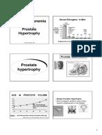 4 & 12. Hyperestrogenemia & Prostate Hypertrophy