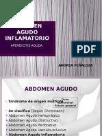 Abdomen Agudo Inflamatorio (Andrea)