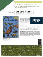 Dinosaurium Press Release