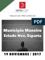 Tablas de Frecuencias m Maneiro PDF