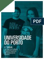 Brochura 1o Ciclo e Mestrados Integrados UPorto 2016 2017