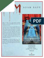 Fum by Adam Rapp Author's Note