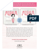 Alma and How She Got Her Name by Jauna Martinez Neal Author's Note