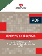 Cartilla de Directiva de Seguridad