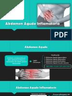 Abdomen Agudo Inflamatorio
