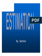 ESTIMASI (8