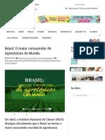 Brasil_ O Maior Consumidor de Agrotóxicos Do Mundo