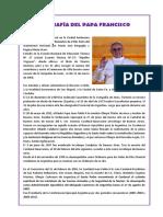 Biografía Del Papa Francisco