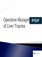 Hepatic-Trauma-Operative Management of Liver Trauma
