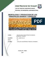 Produccion de Granos y Cereales