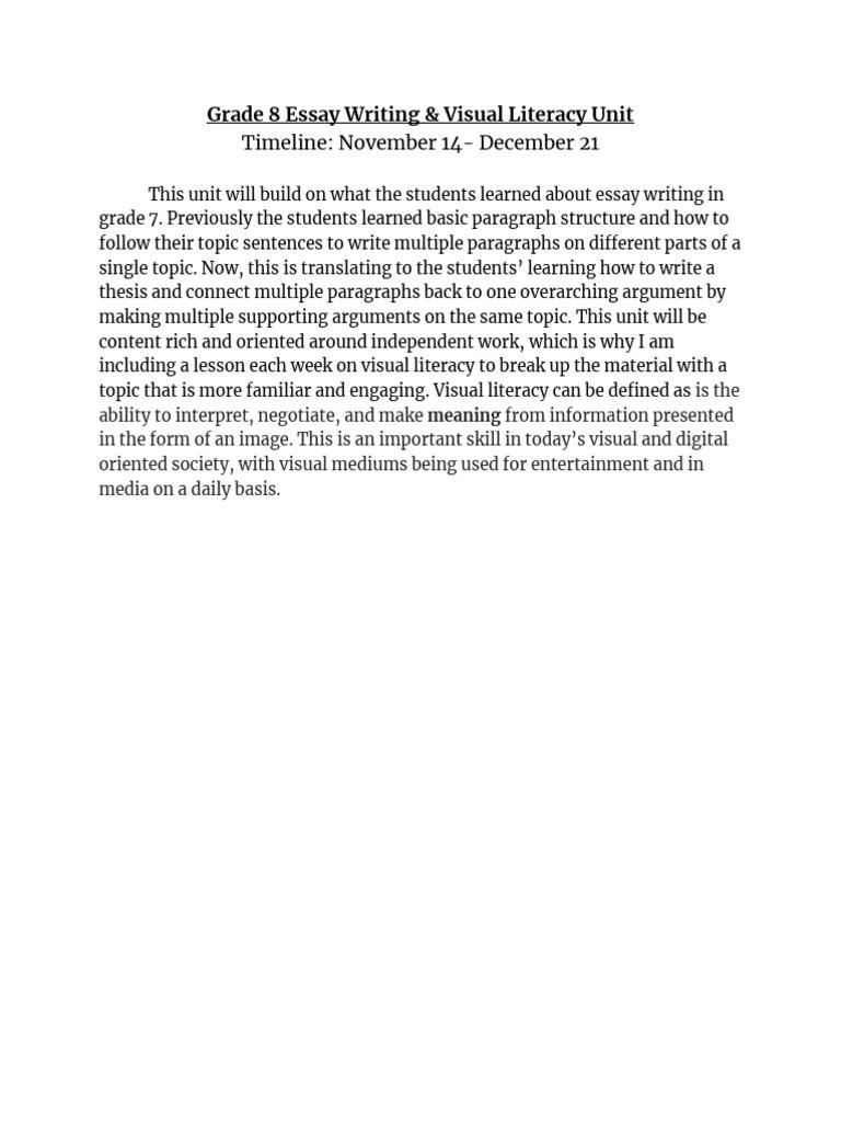 Research paper paragraph form