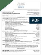 carly gromel resume