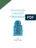 Comunicación y Educación - Escuelas Católicas