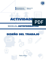 A0110 MA Diseño Del Trabajo ACT ED1 V1 2015