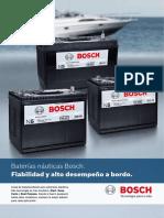 Baterías Nauticas Bosch