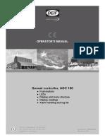 AGC 100 Operator's Manual 4189340753 UK