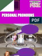 Regina Explica Personal Pronouns