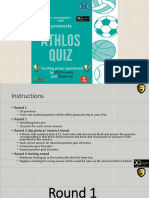Athlos Quiz Event