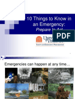 10 Things Emergency