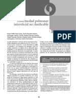 02 Enfermedad Pulmonar Interscisial No Clasificable