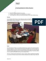 GVI Playa Del Carmen Monthly Achievement Report September 2017