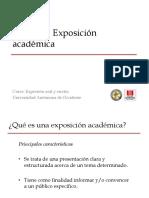 Exposición Académica y Búsqueda de Información