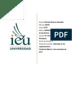 Romero Ricardo Act1 - Liderazgo en las organizaciones