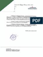 Paraguay no acompañará diálogo entre la oposición y el Gobierno el próximo 1 y 2 de diciembre