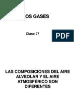 Clase Teórica 27. Los Gases