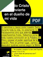 Cuando Cristo se convierte en el dueño de mi vida.pptx