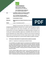 Informe Planteamiento Tecnico Proyecto 2017