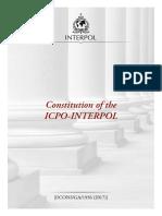 Constituição INTERPOL ing