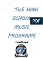 Secondary Ensemble Handbook