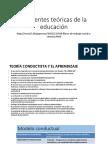 Corrientes Teóricas de La Educación Pres 2