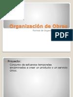 Formas de Organizacion de Obras