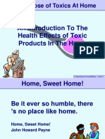 Chapter 24 Slides ToxicsAtHome