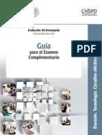 Evaluacion Del Desempeño Guia 16-17