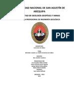Informe de Salidas a Campo_geologia de Minas