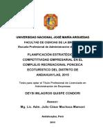 25 2016 Epae Quispe Condori Planificacion Estrategica y Competitividad