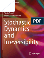 (Graduate Texts in Physics) Tânia Tomé, Mário J. de Oliveira (Auth.)-Stochastic Dynamics and Irreversibility-Springer International Publishing (2015)